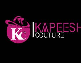 #30 pёr We are needing this logo attached redesigned. We are needing a more polished and modern design. The colors are hot pink, black and white. This is a women's clothing boutique. Please be original. KAPEESH COUTURE nga babitakumawat
