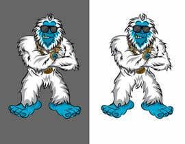 #20 za I need a cartoon Yeti mascot od gilart