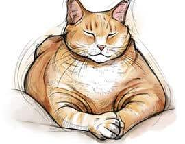 #129 za Draw tattoo style images of my cat od miqeq