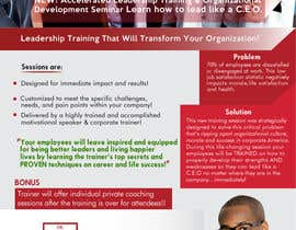 #64 pёr Corporate Training Flyer nga mousumitanjil