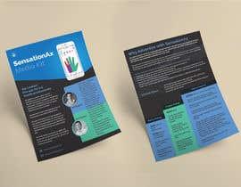#37 untuk Graphic design - develop a media kit/flyer oleh aatir
