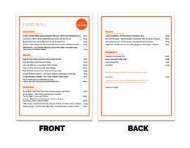 Nro 1 kilpailuun Design/Create funky food menu for bar/restaurant in MS Word käyttäjältä cloudz2