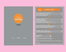 Nro 71 kilpailuun Design/Create funky food menu for bar/restaurant in MS Word käyttäjältä NSGraphicDesing