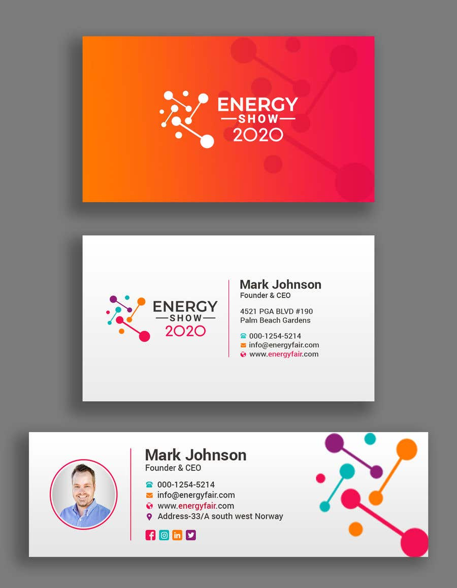 Contest Entry #380 for Business card and e-mail signature template.