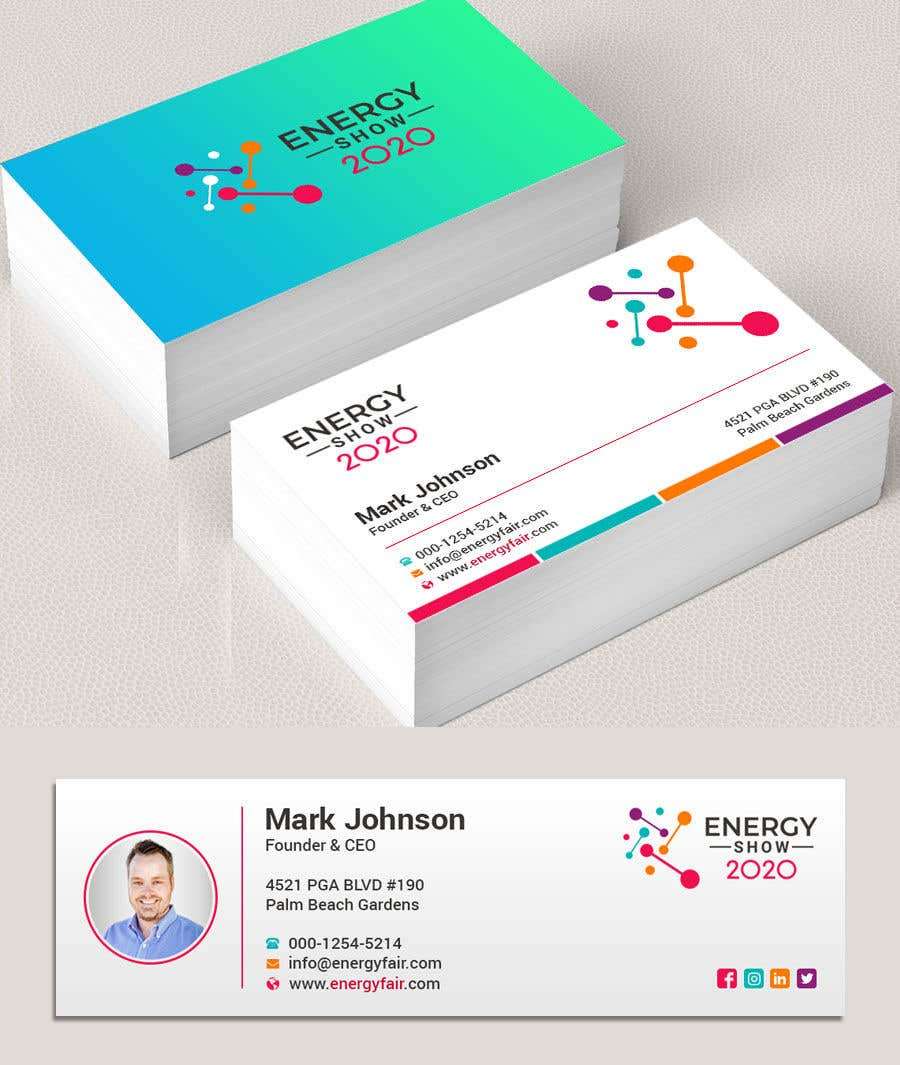 Contest Entry #506 for Business card and e-mail signature template.