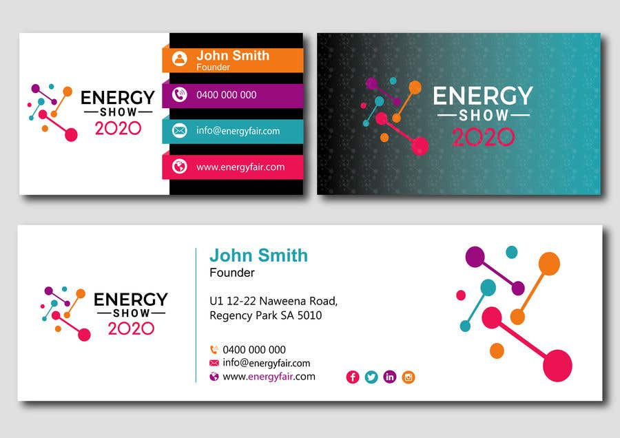 Contest Entry #534 for Business card and e-mail signature template.