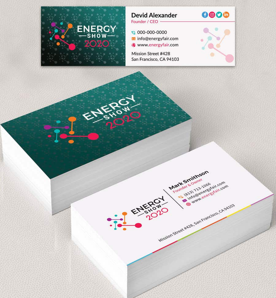 Contest Entry #508 for Business card and e-mail signature template.