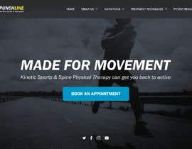 #1 za Need PSD for physical therapy website home page od Fraffaele