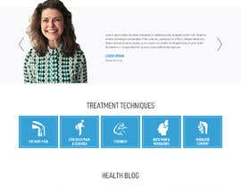 #13 untuk Need PSD for physical therapy website home page oleh saidesigner87