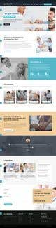 Imej kecil Penyertaan Peraduan #3 untuk Need PSD for physical therapy website home page