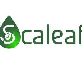 #693 za LOGO for Scaleaf a CBD oil brand product line od jamiu4luv