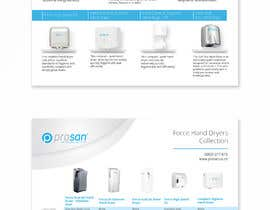 #6 za Create a two page hand dryer brochure od ChiemiDesigns