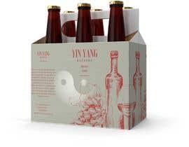 #105 za Yin Yang Wine Label od shahid228