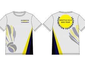 #17 za T-shirt Design for Badminton Tournament od hmahedi640
