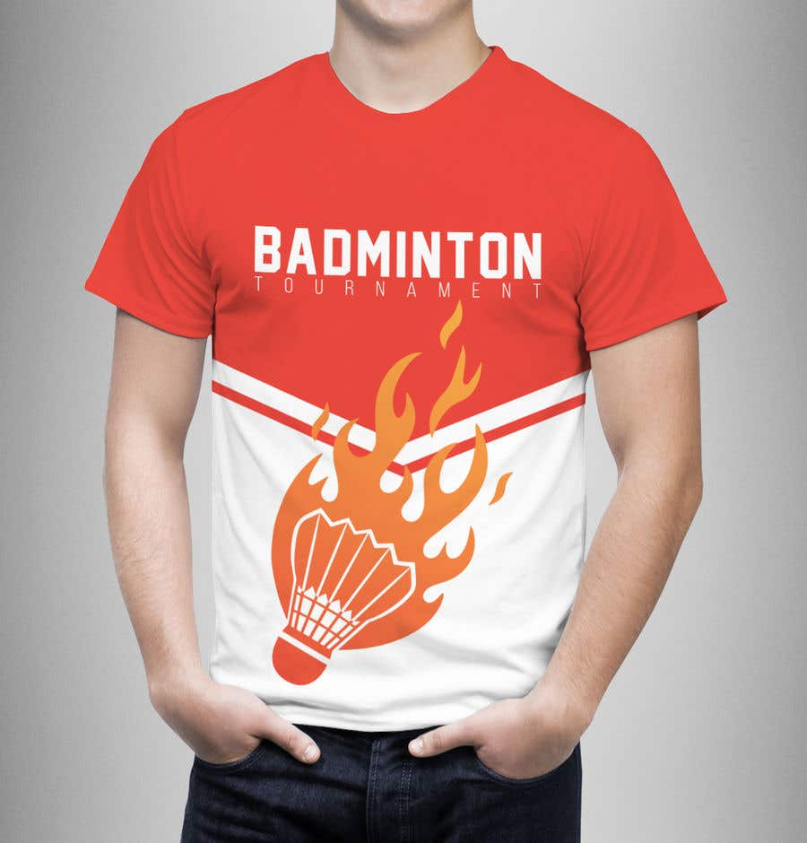 bf30a04e Entry #28 by graphicexpart for T-shirt Design for Badminton ...