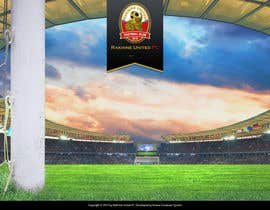 #2 para Graphic Design for Football Club Website Intro Page por rainbowfeats