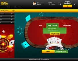 #16 untuk Re-skin My Poker Online Poker System UI oleh saidesigner87