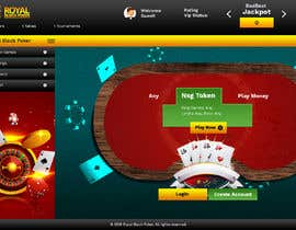 #16 for Re-skin My Poker Online Poker System UI by saidesigner87