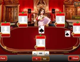 #29 untuk Re-skin My Poker Online Poker System UI oleh indianbest01