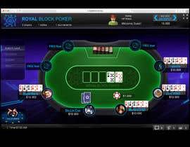 #24 untuk Re-skin My Poker Online Poker System UI oleh icassalata