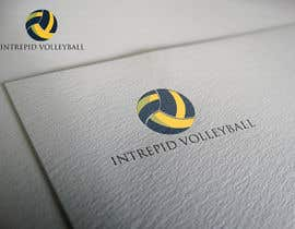 """#5 for Simple and classic volleyball logo for the company name """"Intrepid Volleyball"""" (intrepid means fearless). This must be easily made into shirts and stickers for the business. by ahsanbca0"""