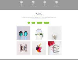 #6 for Website re-design - New look, Same colors by Shaleh4044