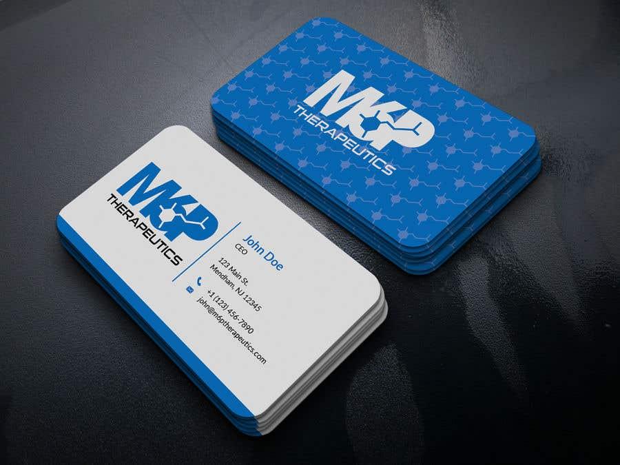 Inscrição nº 82 do Concurso para Design a business card