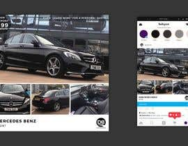 #14 for Hello.  I am trying to redesign my Instagram advert template but my designer is struggling. My brand is DB Automotive. For inspiration I have shown the Multi Cars Brand Which I like.  The winner will give me the PS file so I can use after . Thank you by iamyesarun
