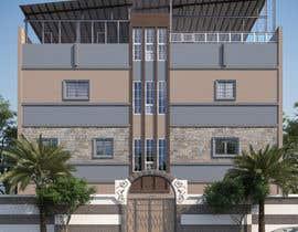 nº 10 pour 3D modeling/rendering of building facade by using 3ds Max to create new color design scheme par MrRifat