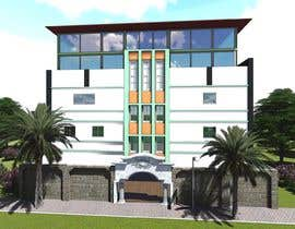 nº 3 pour 3D modeling/rendering of building facade by using 3ds Max to create new color design scheme par rashid78614