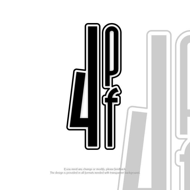 """Intrarea #1357 pentru concursul """"""""4PF"""" Logo"""""""