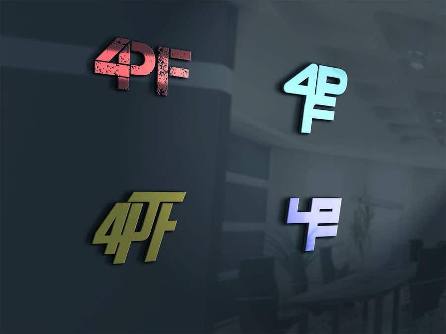 """Intrarea #1392 pentru concursul """"""""4PF"""" Logo"""""""