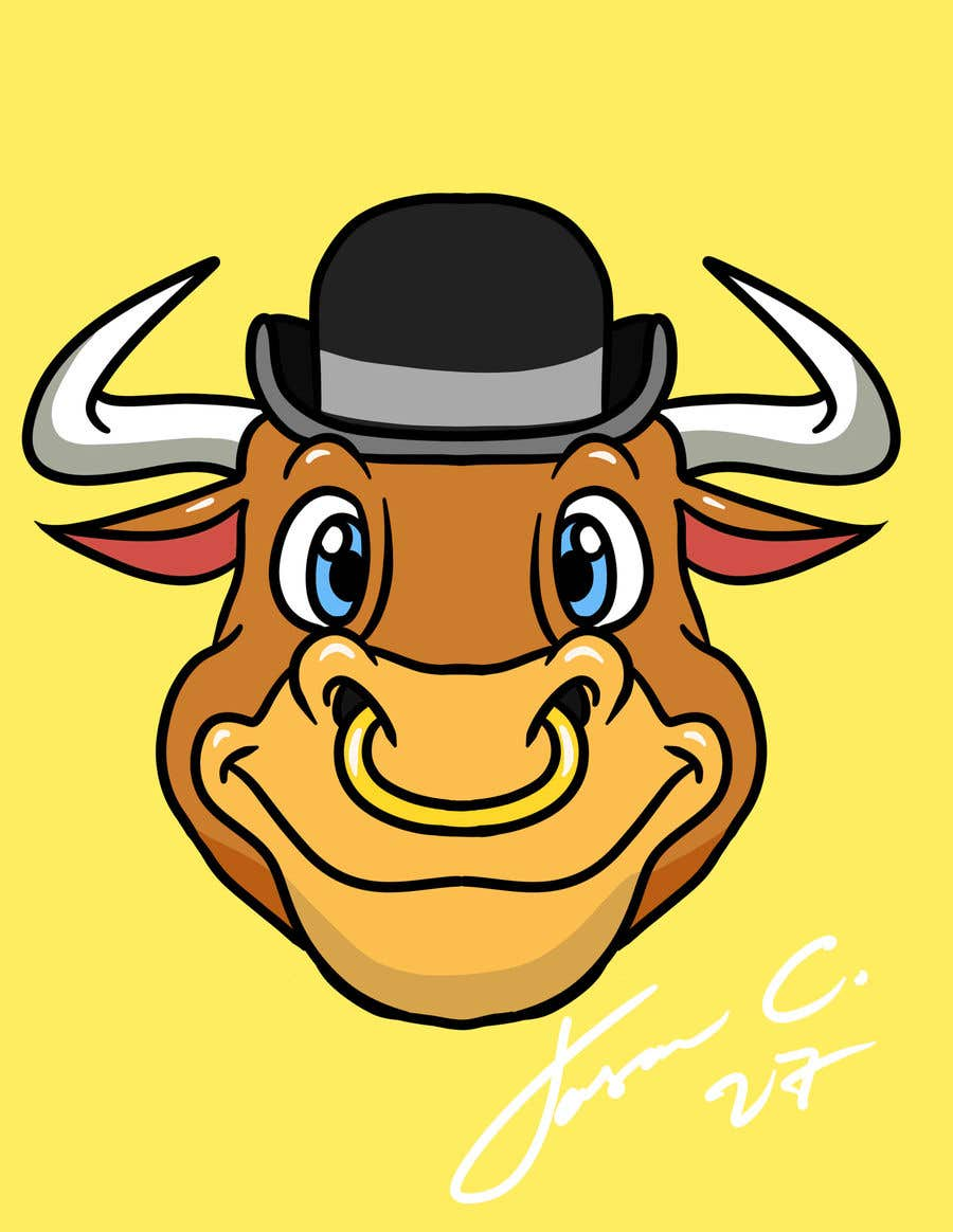 Contest Entry #37 for bull caricature
