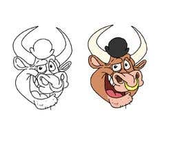 #55 for bull caricature by berragzakariae