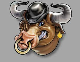 #63 for bull caricature by wmdmorrow