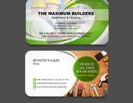 #40 for design double sided business cards - construction by atidoria