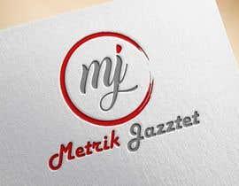 #335 pentru Metrik Jazztet Logo de către aqibali087