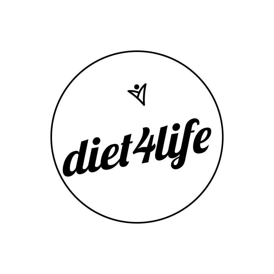 "Intrarea #43 pentru concursul ""We need a logo for our company «Diet4Life»"""