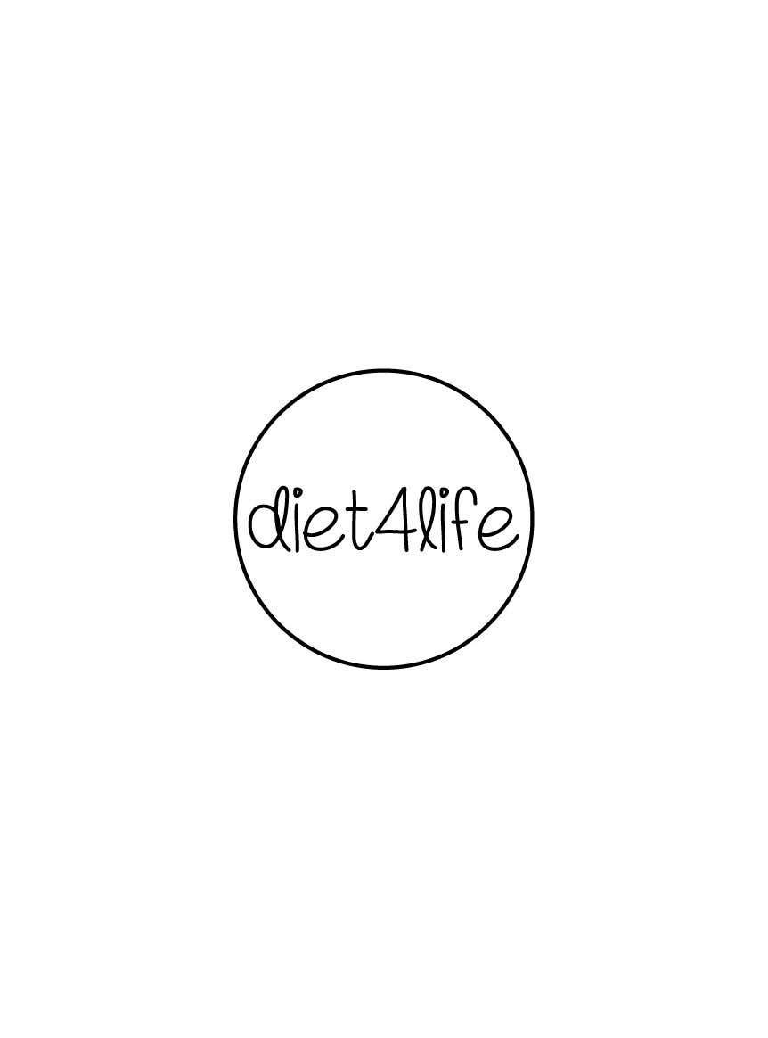 "Intrarea #44 pentru concursul ""We need a logo for our company «Diet4Life»"""