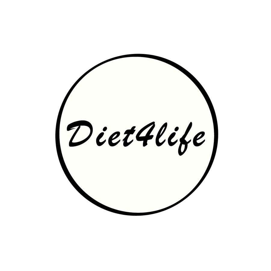 "Intrarea #50 pentru concursul ""We need a logo for our company «Diet4Life»"""