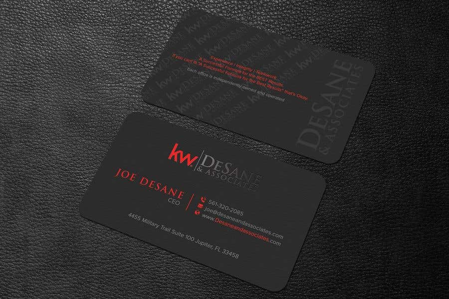 Contest Entry #398 for Modern Business Card Design