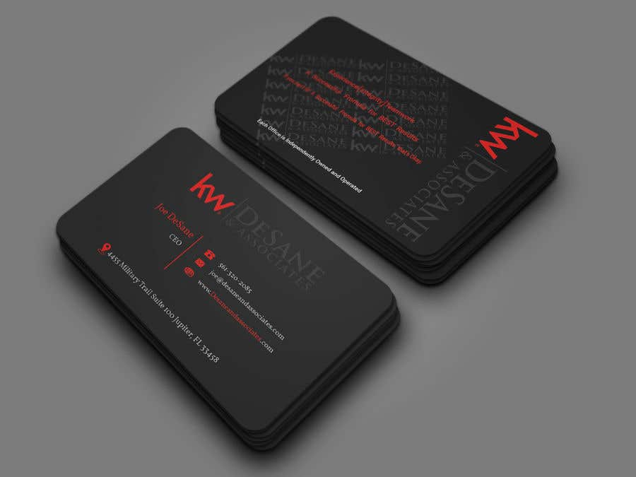 Contest Entry #394 for Modern Business Card Design