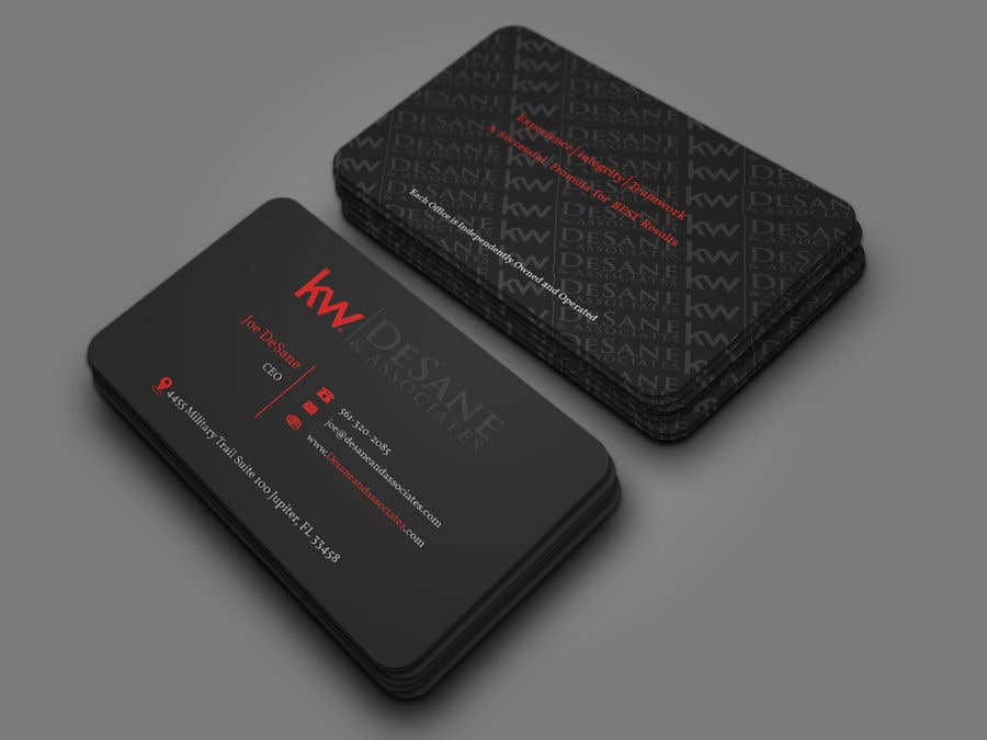 Contest Entry #403 for Modern Business Card Design