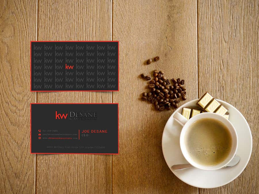 Contest Entry #402 for Modern Business Card Design