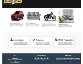 #4 for 1 page home page design by usd2m