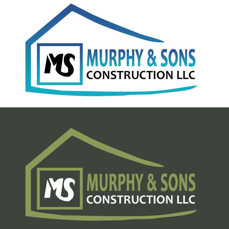 Bài tham dự cuộc thi #                                        16                                      cho                                         Design a Logo for Murphy & Sons Construction LLC
