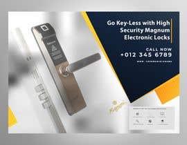 nº 30 pour Build a Product Brochure for Electronic Lock par adesigngr