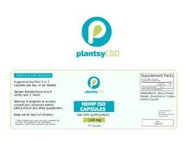 Nro 16 kilpailuun PlantsyCBD  LOGO + Package Labeling käyttäjältä elena13vw