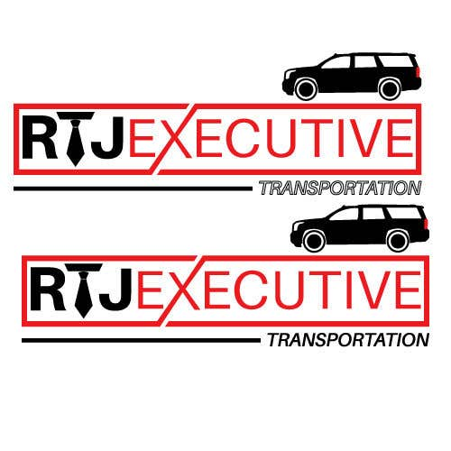 "Конкурсная заявка №34 для I need a logo for my limo company. We use SUVs (Yukon XLs and Suburbans) Our company name is ""RTJ Executive Transportation"" We are a black tie car service."