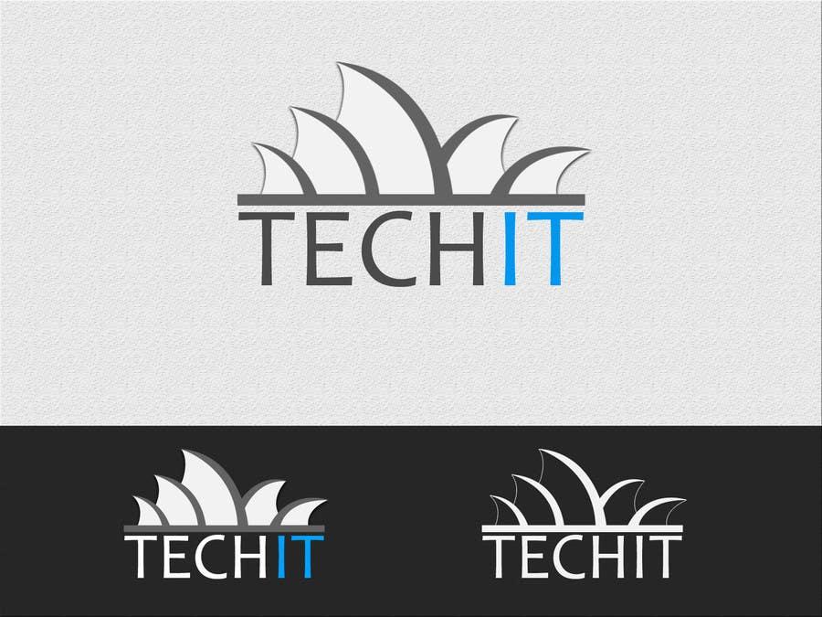 Konkurrenceindlæg #                                        166                                      for                                         Logo Design for a TECH IT Company